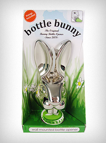 SwankyLuv: Wall Mount Rabbit Bottle Opener | PLASTICLAND