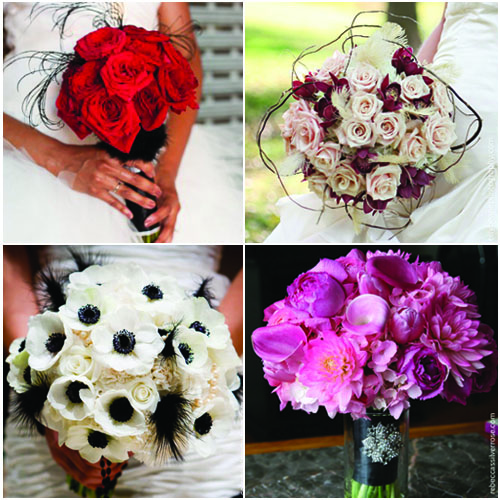 SwankyLuv: Weddings: Bouquets